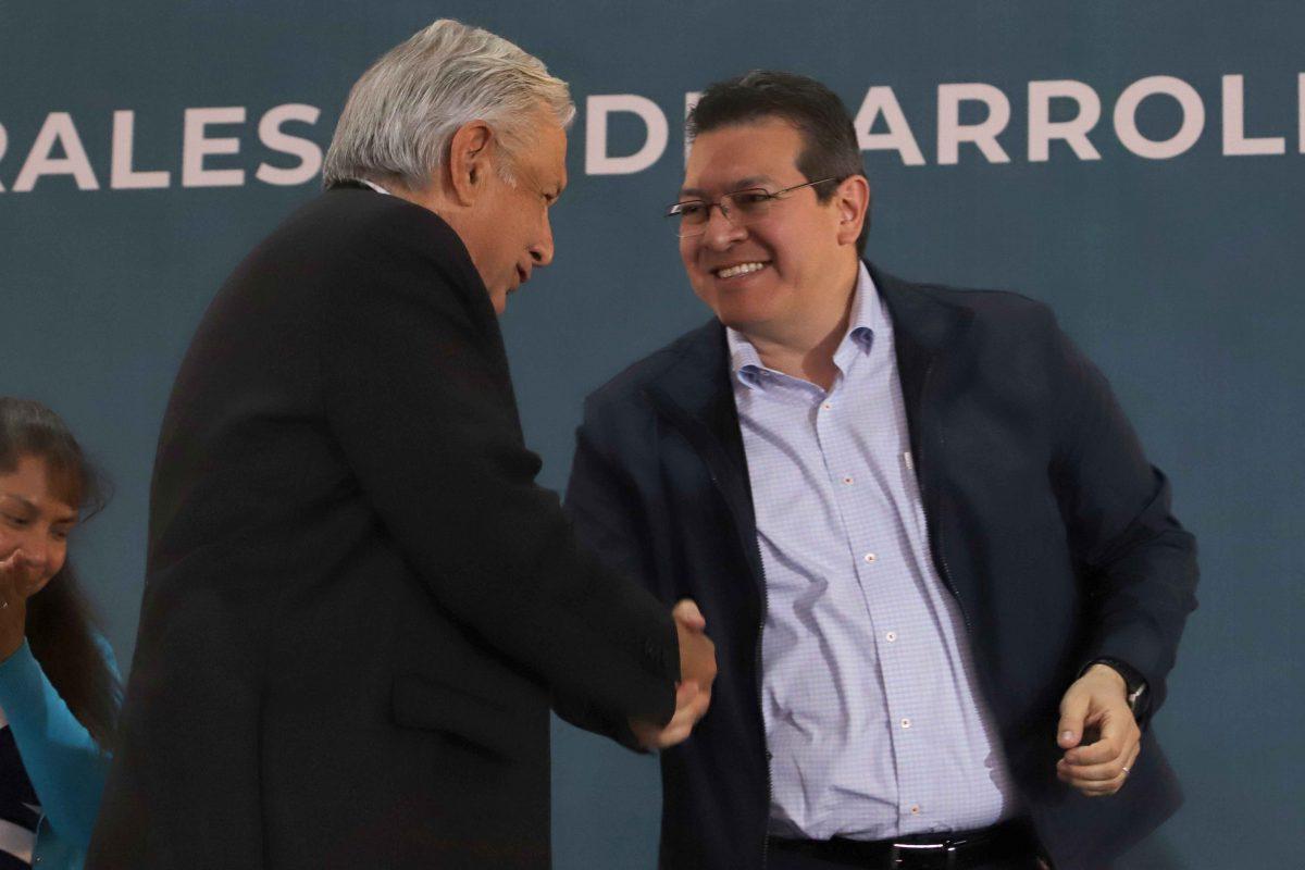 PRESIDENTE LÓPEZ OBRADOR Y GOBERNADOR MENA  REFRENDAN TRABAJO COORDINADO