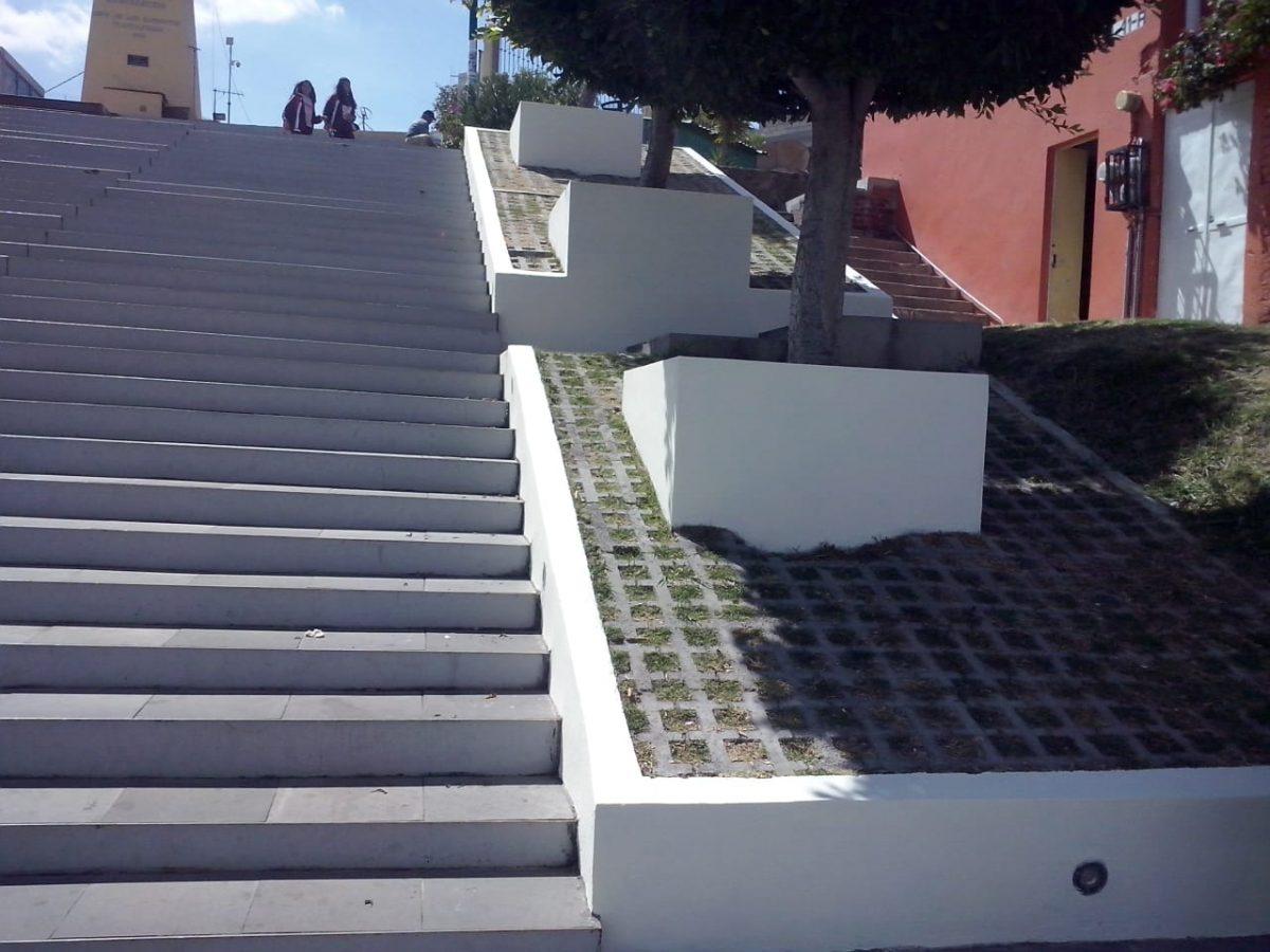 Concluyen trabajos de mantenimiento en Escalinatas de los Héroes de la capital