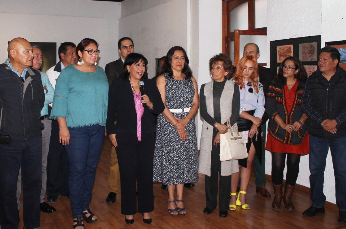 Llega a la galería capitalina la exposición Con los ojos en Tlaxcala