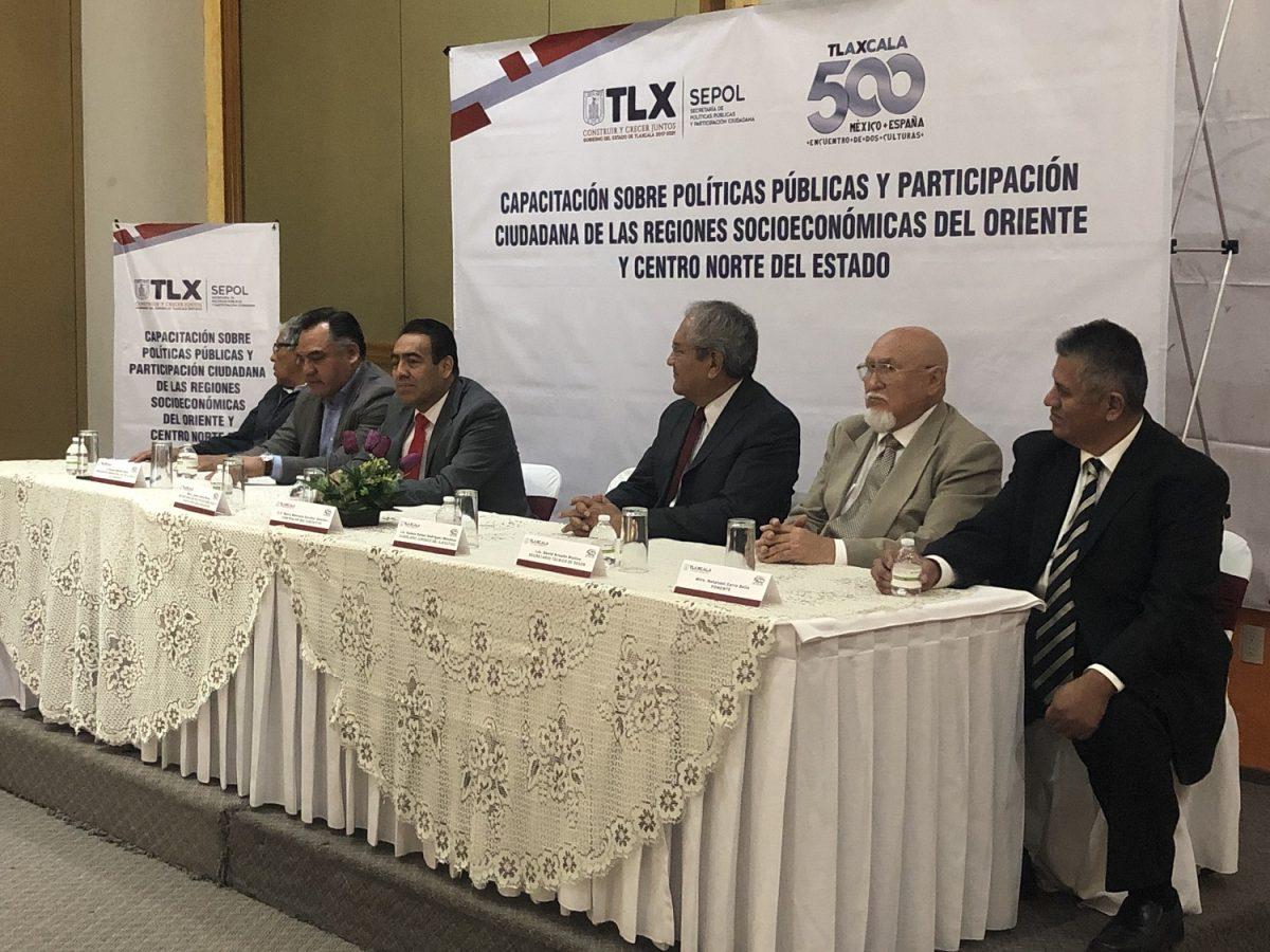 CAPACITA SEPOL A REGIONES SOCIOECONÓMICAS  DEL ORIENTE Y CENTRO-NORTE DEL ESTADO