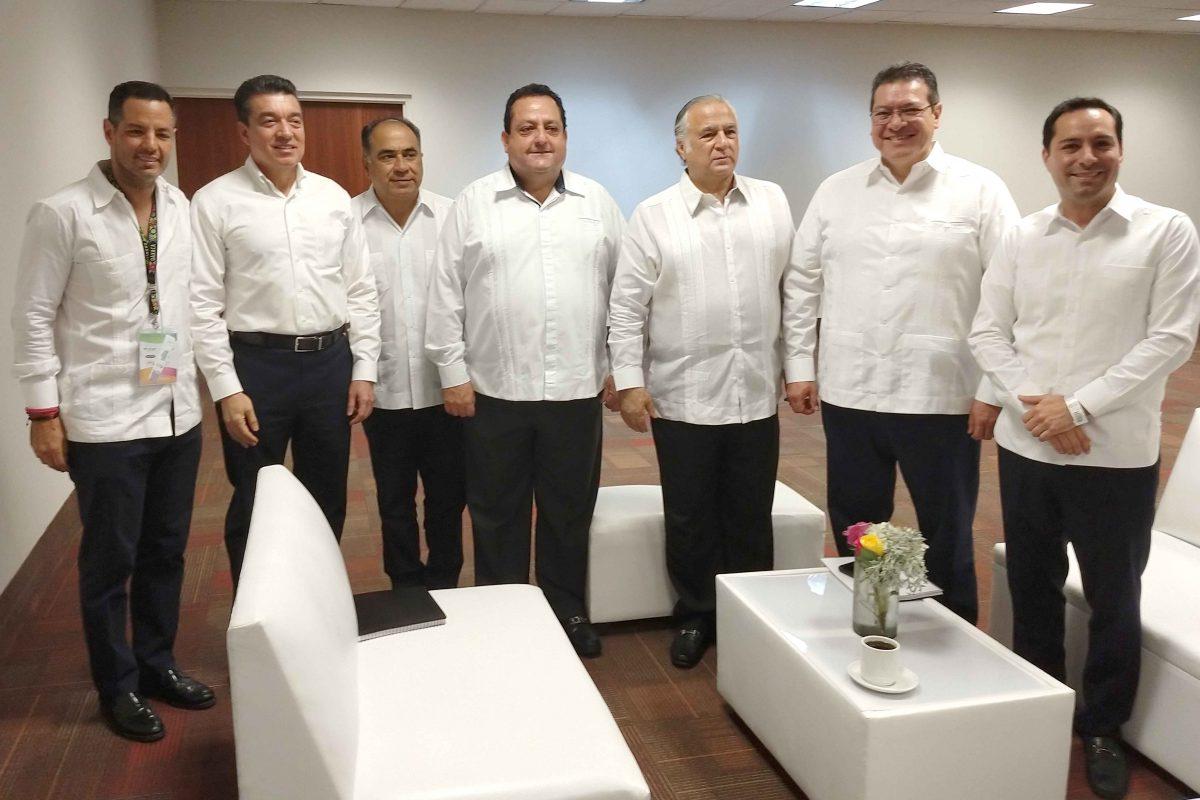PROMUEVE MARCO MENA CONMEMORACIÓN DE LOS 500 AÑOS  EN EL TIANGUIS TURÍSTICO 2019