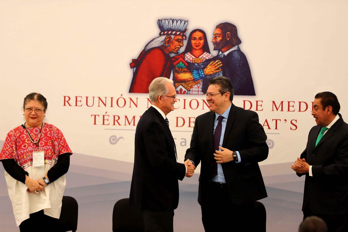 INAUGURA MARCO MENA REUNIÓN NACIONAL  DE INSTITUTOS DE CAPACITACIÓN PARA EL TRABAJO