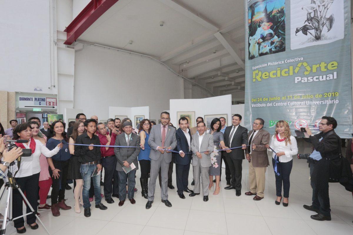 Se abre en la UATx la exposición colectiva ReciclArte