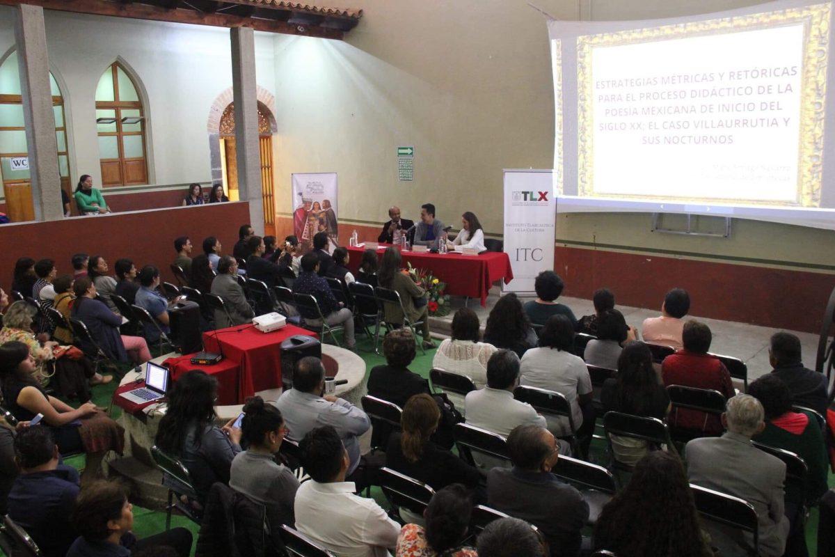 PRESENTA ITC ANÁLISIS DE LA POESÍA MEXICANA  A CARGO DE MARX ARRIAGA NAVARRO
