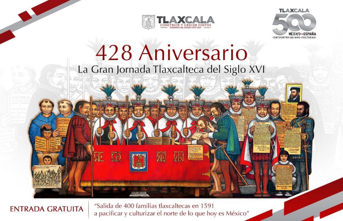CON EDICIÓN ESPECIAL CONMEMORARÁN EL 428 ANIVERSARIO DE LA GRAN JORNADA TLAXCALTECA DEL SIGLO XVI