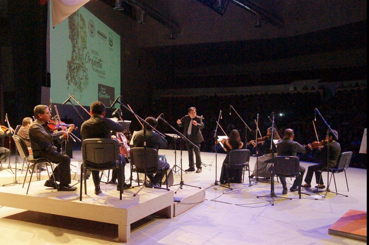 Concierto de gala de la Orquesta de la Cámara de la Institución, en homenaje al Maestro Universitario,