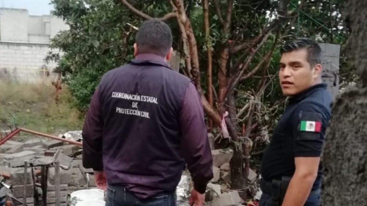 ATIENDE CEPC REPORTE DE EXPLOSIÓN EN CONTLA