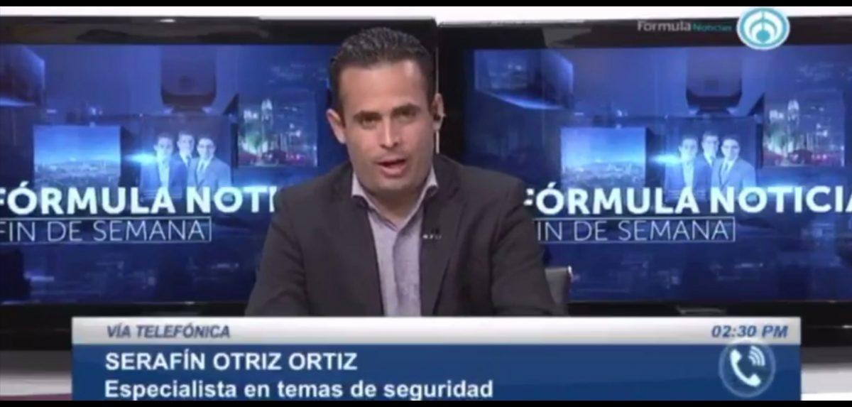 Durante su partición en un medio nacional el experto en seguridad publica Serafín Ortiz Ortiz hablo sobre La Política Criminal Mexicana