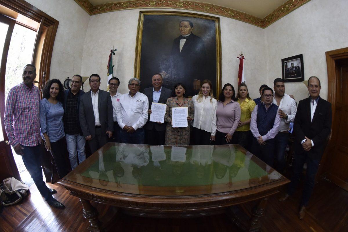 Acuerdan Tlaxcala y Atlixco impulsar un desarrollo conjunto de sus comunas