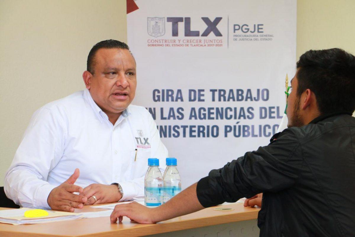 RECONOCEN CIUDADANOS Y ABOGADOS EL ACERCAMIENTO DEL PROCURADOR
