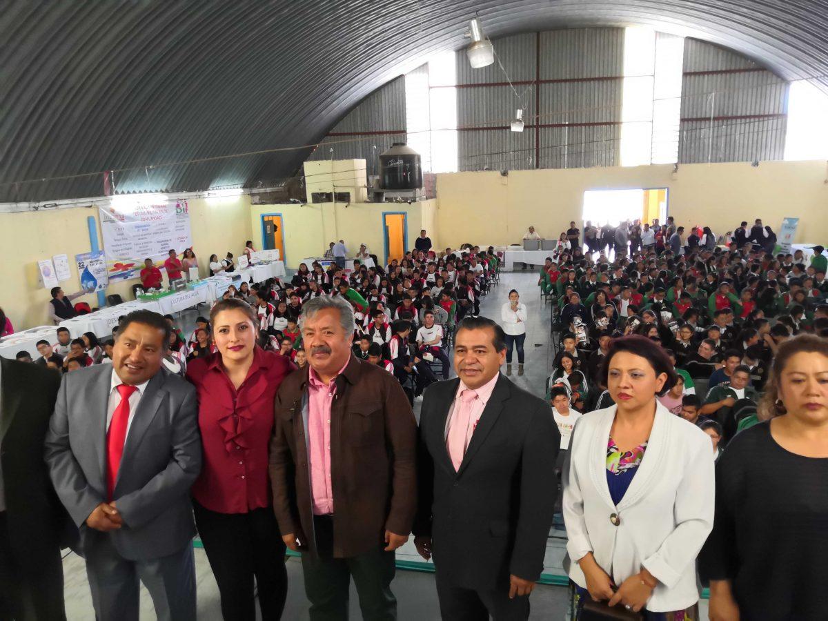 PARTICIPAN MÁS DE 400 JÓVENES DE IXTACUIXTLA  EN CAMPAÑA DE SERVICIOS INTEGRALES DEL ITJ