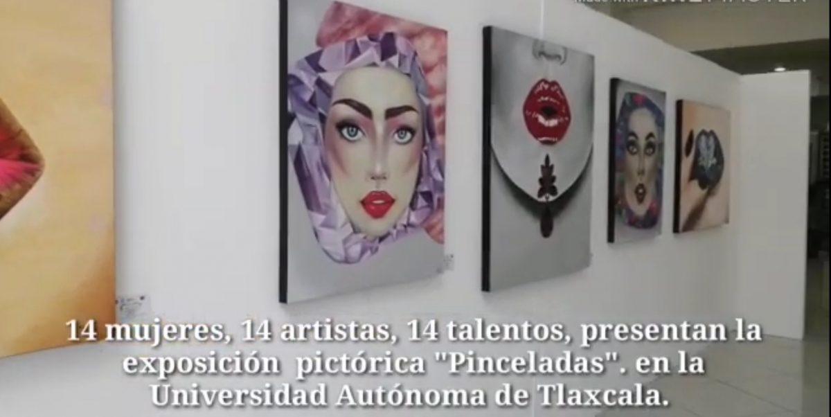 """""""Pinceladas"""" una exposición que no te puedes perder en el Centro Cultural Universitario."""