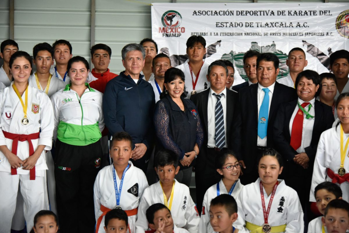Fue Polideportivo del Segundo Torneo Estatal de Karate ADKT 2019