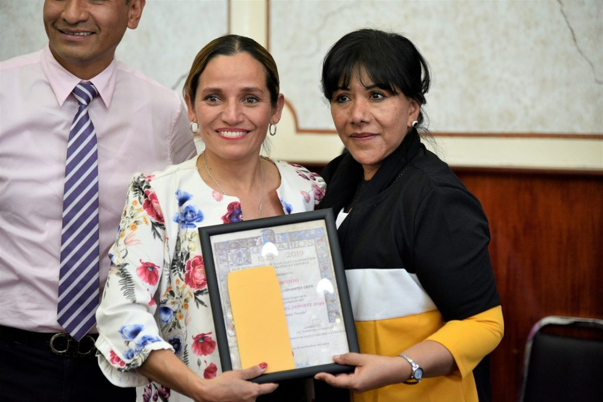 "Entrega Anabell Ávalos ""Premio Municipal del Deporte 2019″"