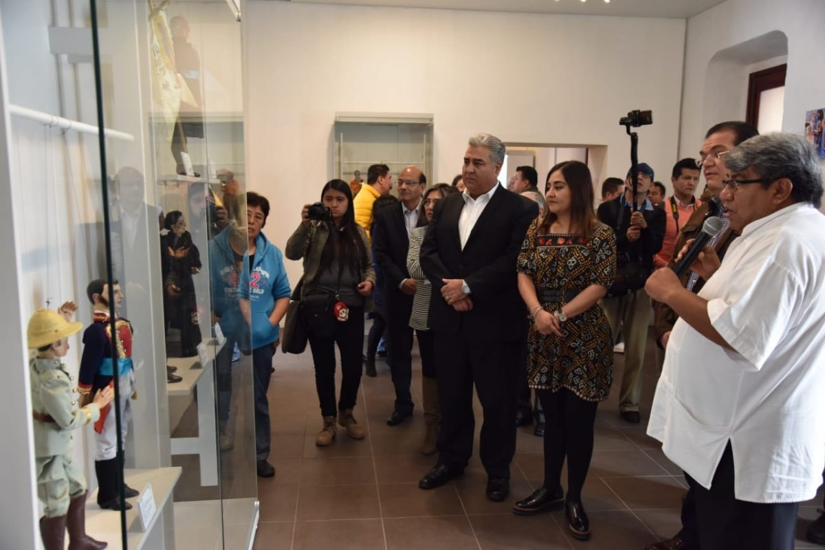 "INAUGURA ITC EXPOSICIÓN ""ROSETE ARANDA  REGRESA A CASA"" EN EL MUNATI"