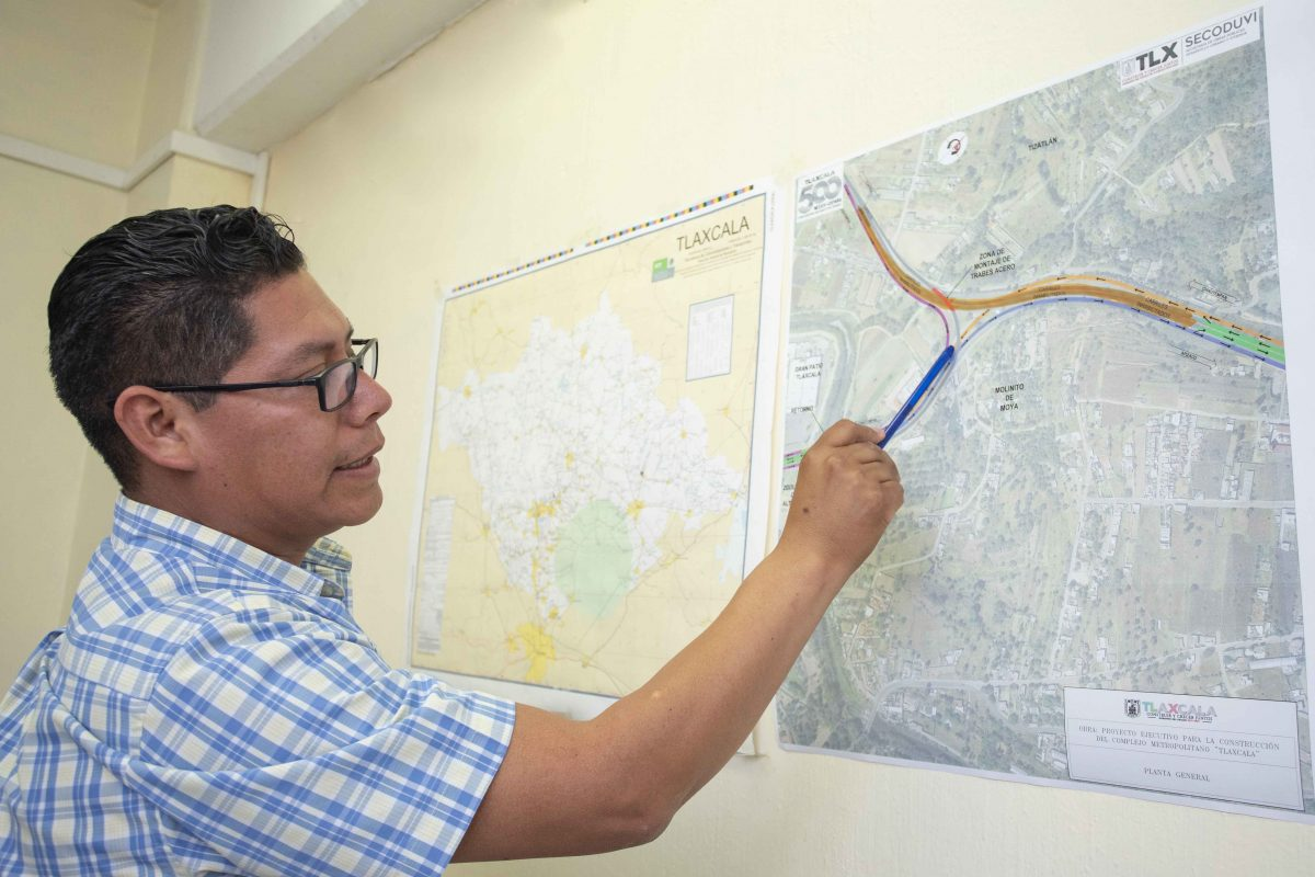 ANUNCIA SECODUVI CIERRE DE CARRILES DE LA CARRETERA  TLAXCALA-APIZACO POR COLOCACIÓN DE TRABES