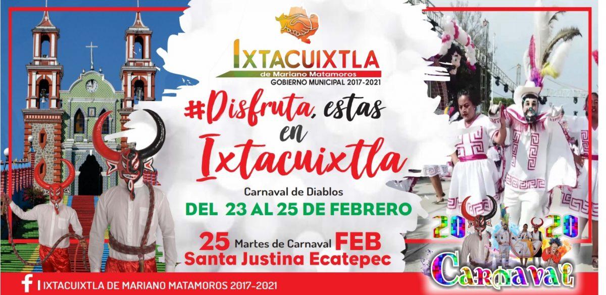 Carnaval de diablos en Ixtacuixtla