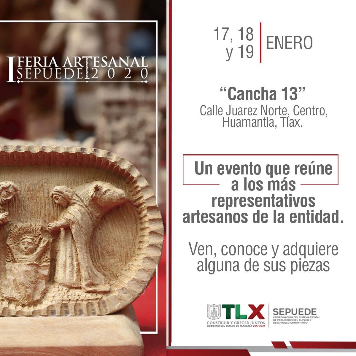 """PARTICIPARÁN 70 PRODUCTORES EN LA """"FERIA ARTESANALSEPUEDE2020"""