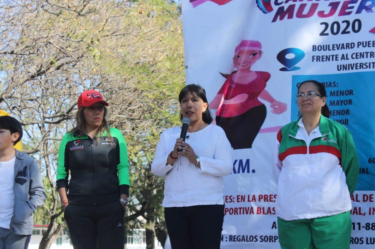 Se suman más de 500 a la Carrera Municipal de la Mujer 2020
