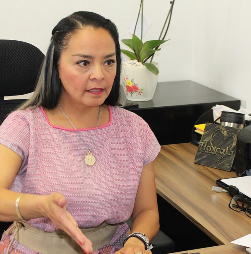 Autoridades Municipales de San Lucas Tecopilco, denunciaron presuntos actos de corrupción de parte de la diputada local de Morena, Mayra Vázquez Velázquez.