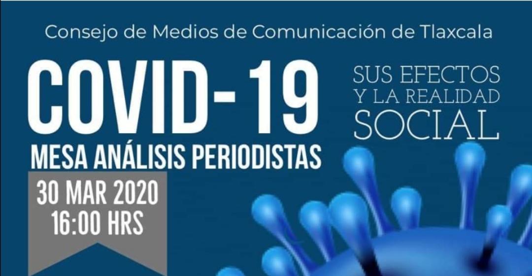 El Consejo de Medios de Comunicación de Tlaxcala realizará su Segunda Mesa de Análisis