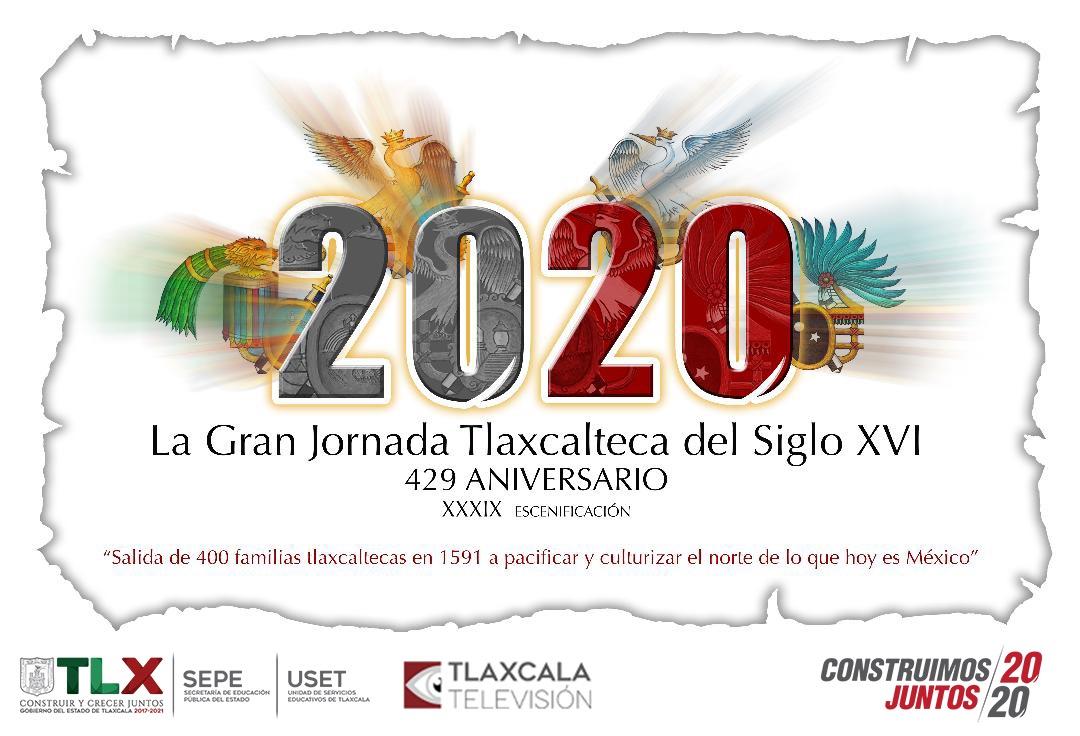RETRANSMISIÓN DE LA GRAN JORNADA TLAXCALTECA DEL SIGLO XVI POR TLAXCALA TELEVISIÓN