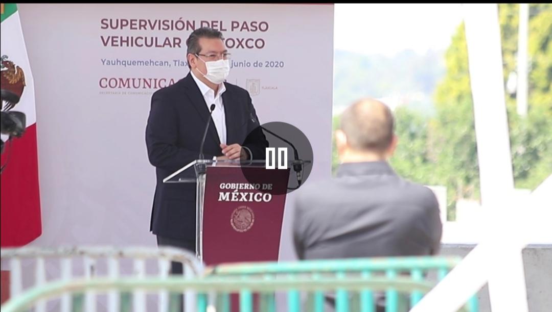 Supervisan Gobernador Marco Mena y el presidente de la República AMLO