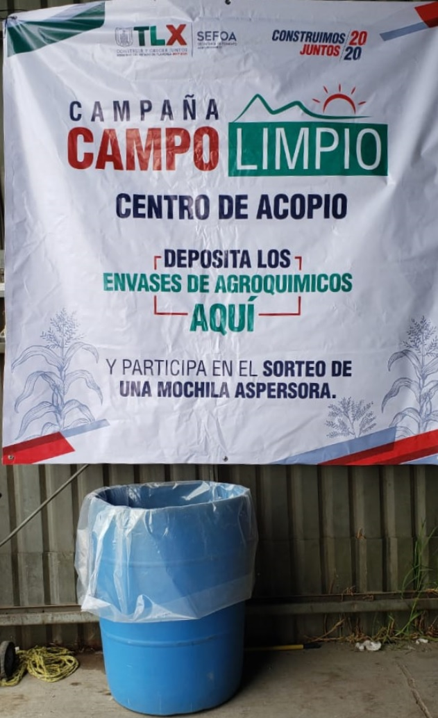 """INICIA SEFOA CAMPAÑA """"CAMPO LIMPIO"""" Y PROYECTO DE CAPACITACIÓN EN SANIDAD VEGETAL"""