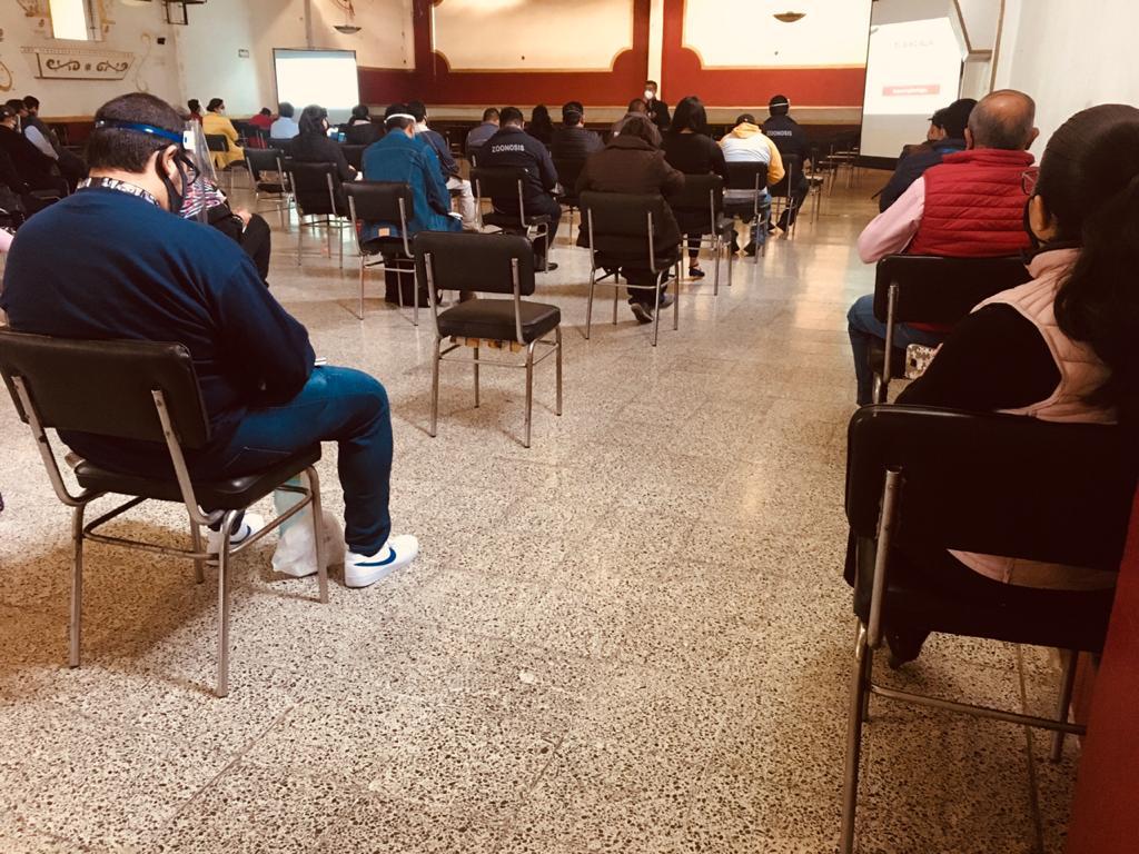 CAPACITA SESA A PERSONAL DE OFICINAS CENTRALES  SOBRE CÓDIGOS DE BIOSEGURIDAD