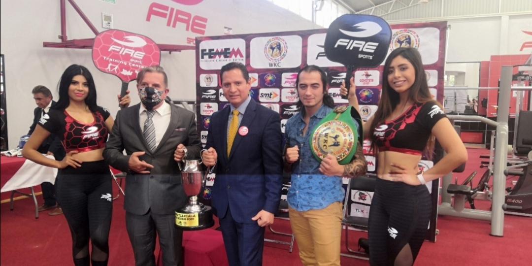 "FIRE SPORTS PRESENTA TORNEO ""COPA TLAXCALA KICK BOXING 2020"""