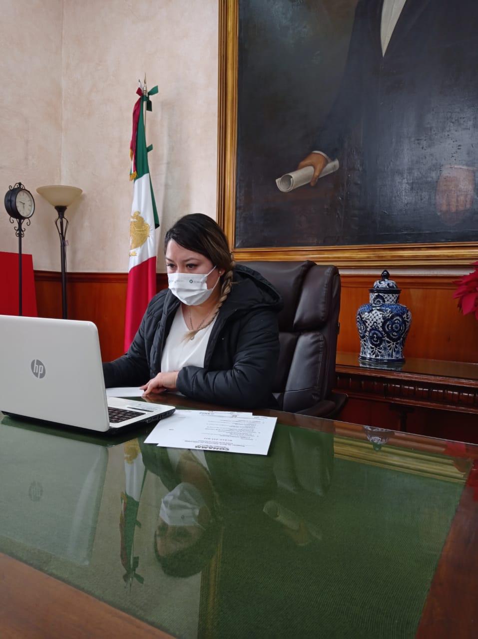 Recibe Mildred Vergara nombramiento como vicepresidenta de la CONAMM