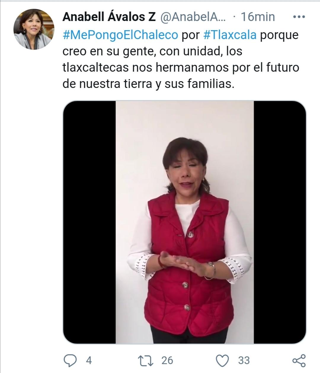 MePongoElChaleco por #Tlaxcala porque creo en su gente