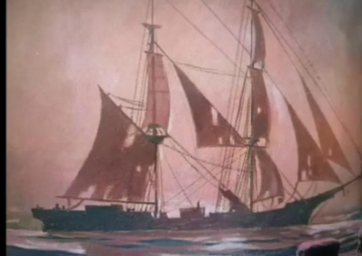 El encuentro real con el buque fantasma