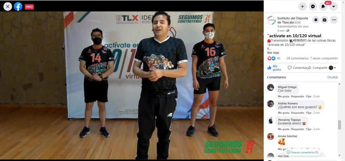 """Imparte IDET """"Ritmos en el deporte"""" enfocado al voleibol"""