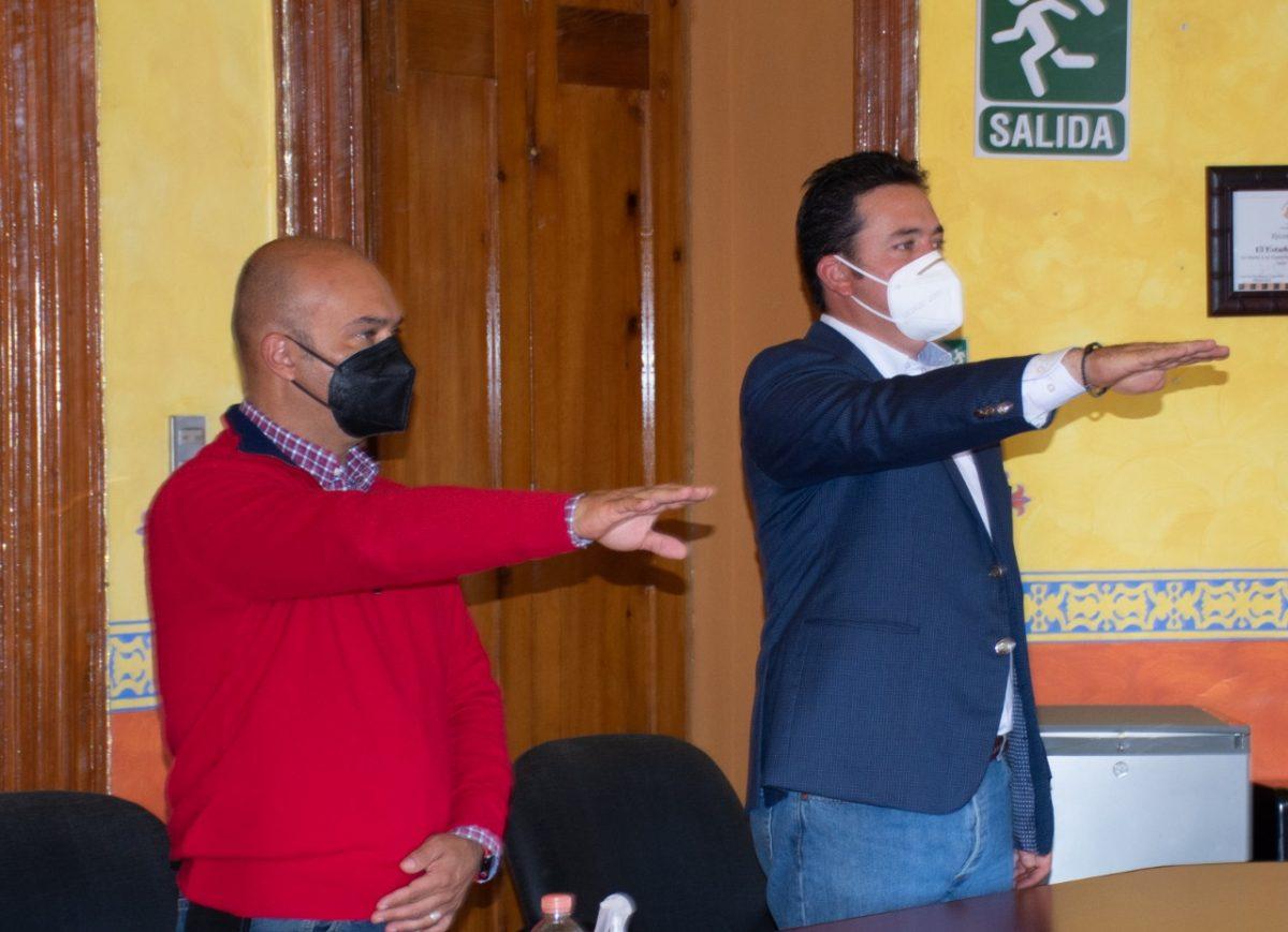 RINDE PROTESTA SECRETARIO DE TURISMO  COMO VICEPRESIDENTE DEL CONSEJO TÉCNICO DEL ITDT