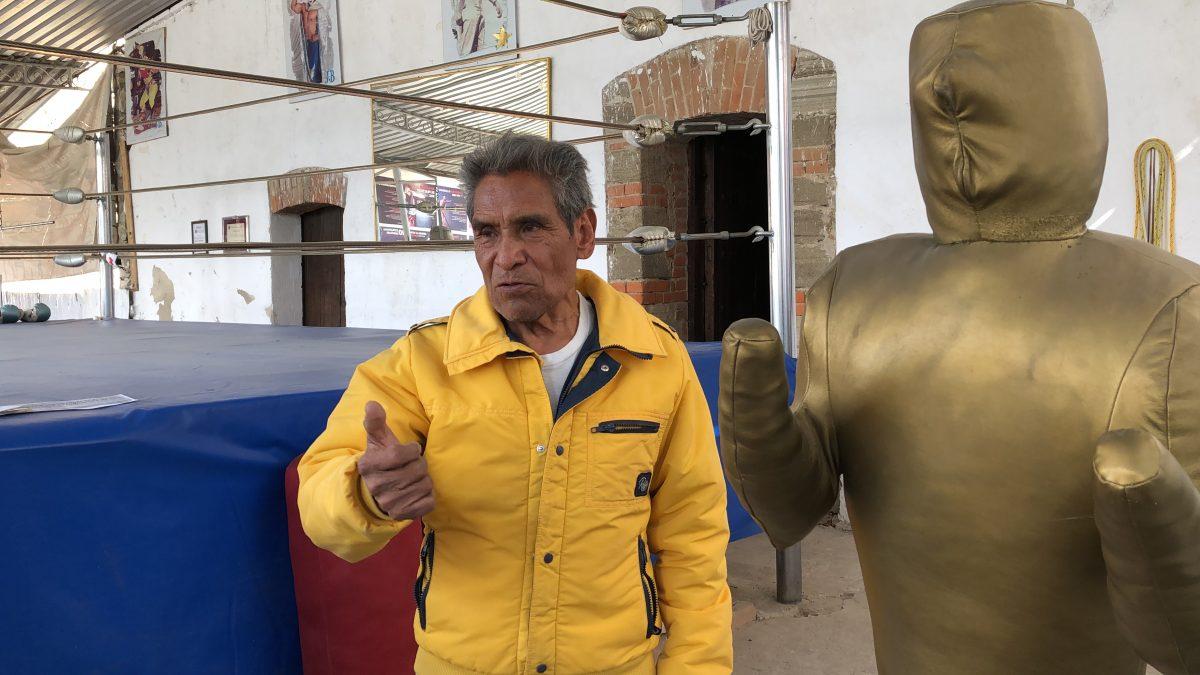 Delfino Juárez quiere dejar huella en el boxeo tlaxcalteca