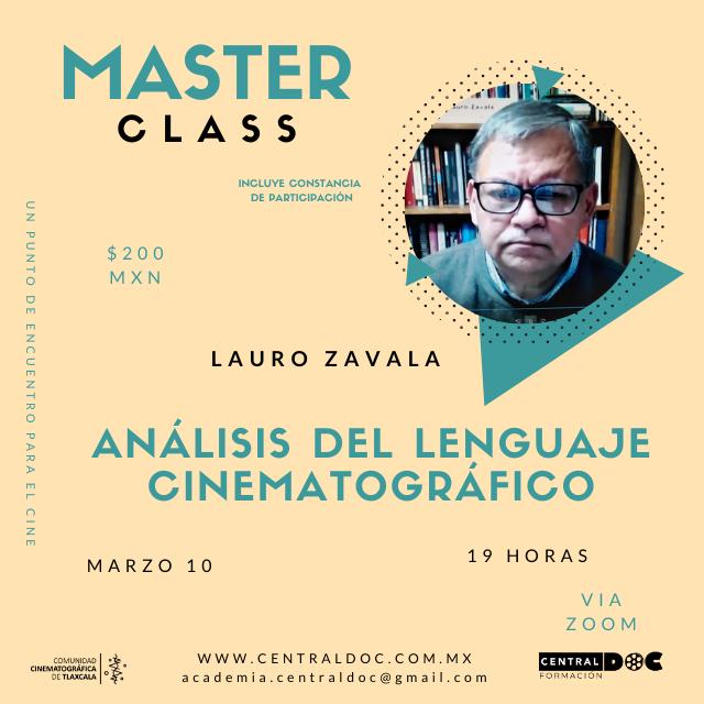 Máster class Análisis del lenguaje cinematográfico