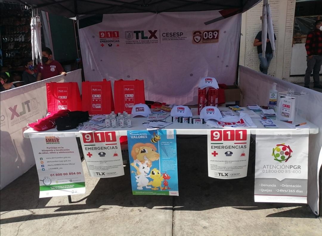 PARTICIPA LA FGR EN CARAVANA DE PREVENCIÓN EN CHIAUTEMPAN