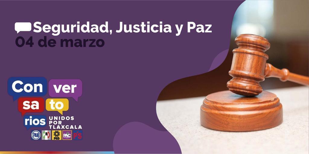 """Expondrá PRD Conversatorio """"Seguridad, Justicia y Paz"""""""