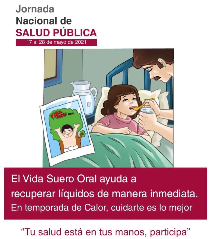 REALIZARÁ SESA PRIMERA JORNADA  NACIONAL DE SALUD PÚBLICA 2021