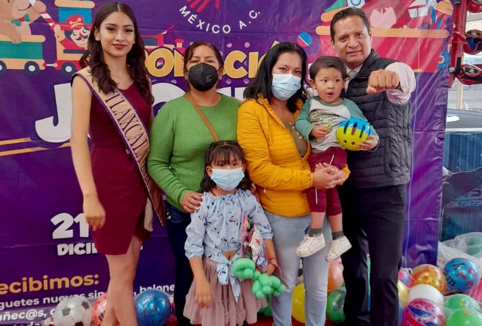 Celebra Luis Antonio Herrera a niños y madres de Tlaxcala
