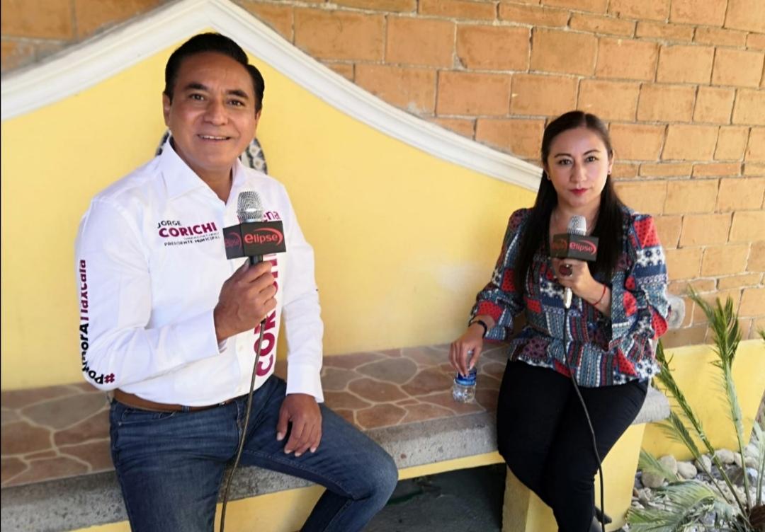 """Entrevista """"Sin Filtros"""" con el candidato a la alcaldía de la capital del estado, Jorge Corichi del partido Morena con la periodista Miriam Bueno."""