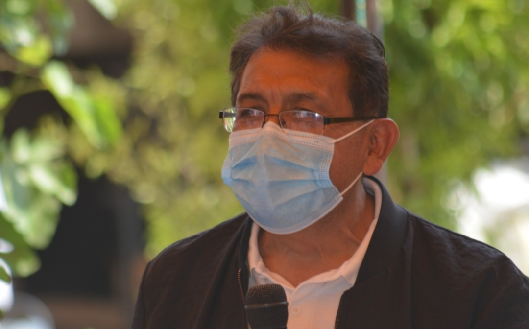 Serafín Ortiz, candidato del Partido Alianza Ciudadana a la Presidencia Municipal de Tlaxcala, sigue presentando sus propuestas y escuchando a los ciudadanos.
