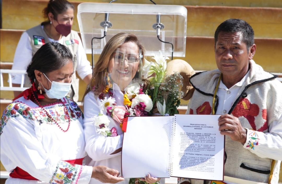 Identidad indígena tendrá pleno respeto en Gobierno de Lorena Cuéllar