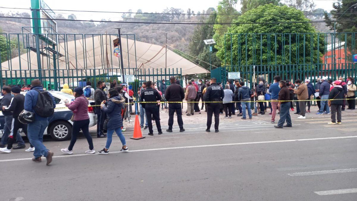 El Ayuntamiento capitalino tras la aplicación de la vacuna COVID-19 a personas de 50 a 59 años de edad del municipio de Tlaxcala