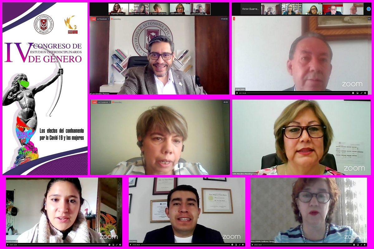 Efectuó UATx congreso interdisciplinario de género
