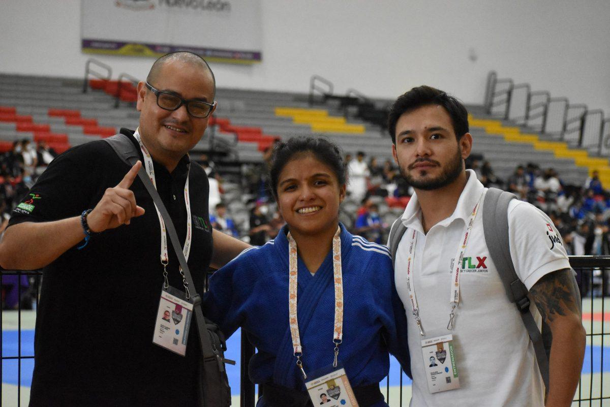 Con medalla de bronce, cierra el judo tlaxcalteca participación en Juegos Nacionales