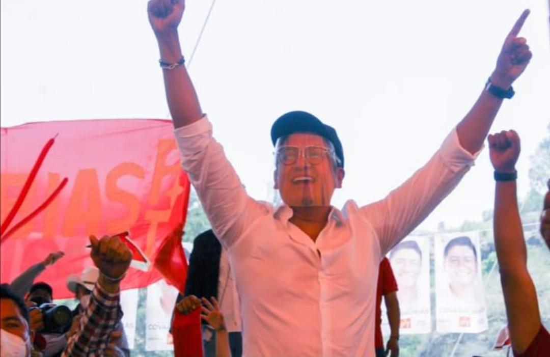 Covarrubias, primer tlaxcalteca que logra la reelección en la historia de Tlaxcala