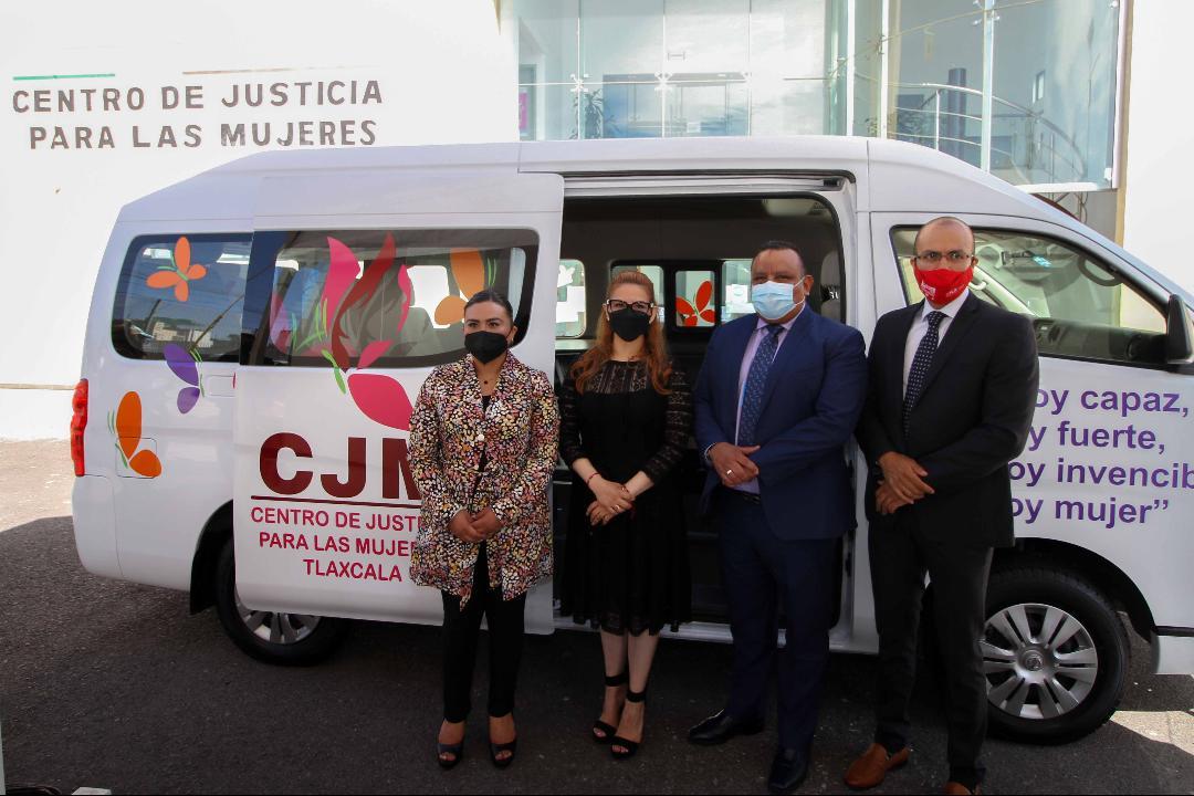 INAUGURA PGJE UNIDAD MÓVIL DEL  CENTRO DE JUSTICIA PARA MUJERES