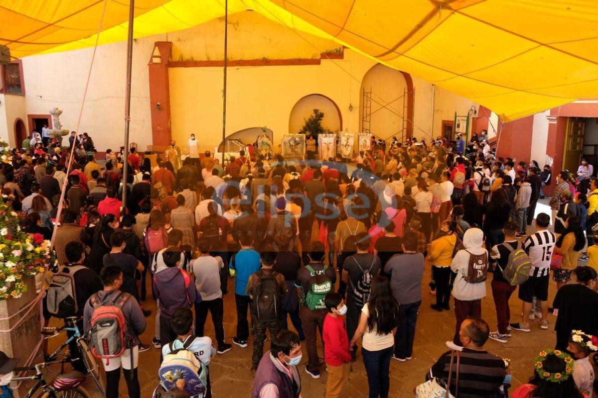 Empiezan a llegar los peregrinos hasta el Santuario de San Miguel del Milagro.
